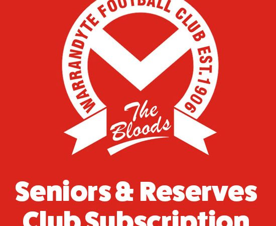 seniors and reserves club subscription